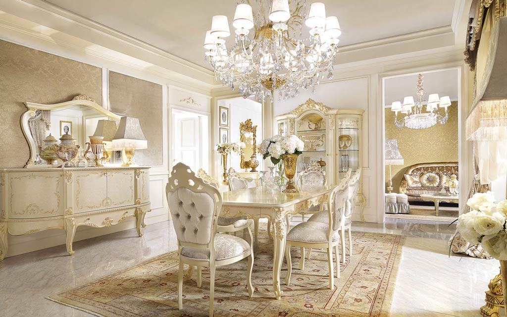 Mobili classici camere da letto soggiorni classici for Arredamento stile classico